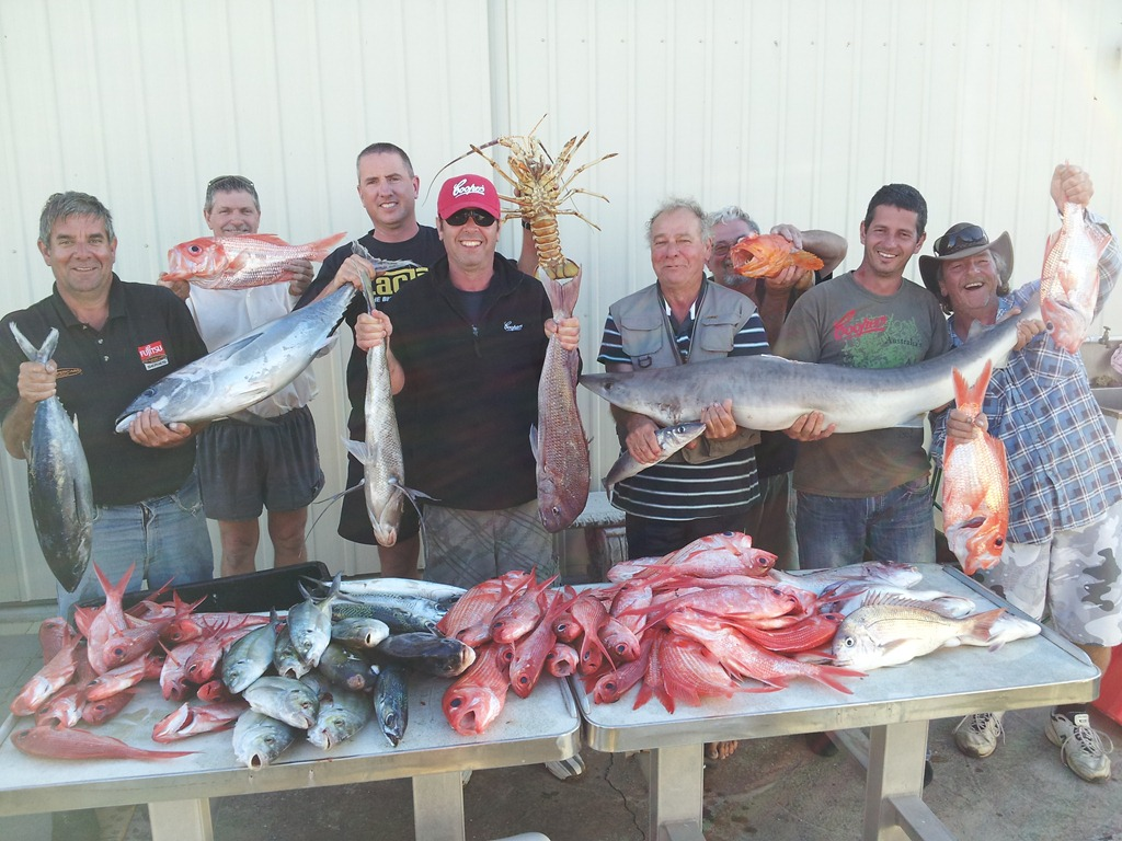 Three day and four night package for Reel action fishing charters