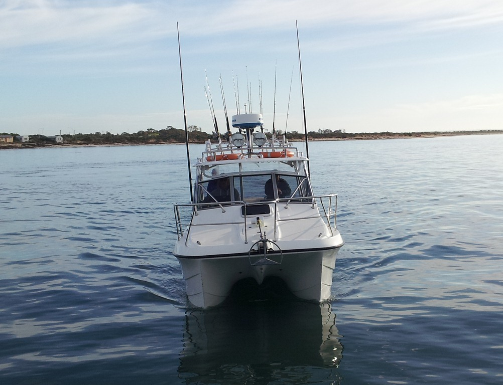 Samson fish on tap for reelaction charters for Reel action fishing charters